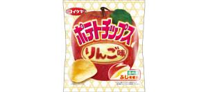 ポテトチップスりんご
